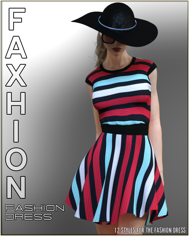 Faxhion - Fashion Dress by vyktohria