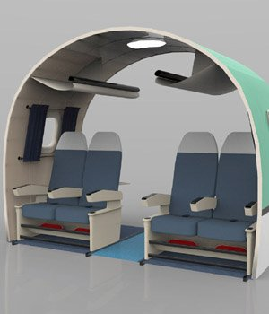 Aircraft Interior  for Poser  3D Models VanishingPoint