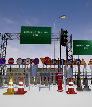 City Environment for Unreal Engine 3D Models DanteStormdark