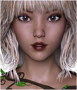 TDT-Chika for Genesis 3 Female