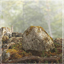 3D Scenery: Moss Woods - Extended License image 5