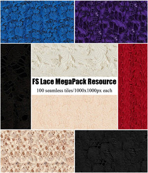 FS Lace MegaPack Resource 2D Graphics FrozenStar