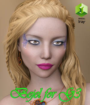 Bejel for Genesis 3 Female 3D Figure Essentials Anain