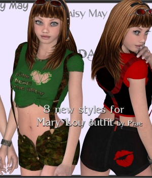 Daisy May 3D Figure Essentials JudibugDesigns