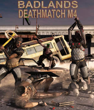 Badlands Deathmatch for M4 3D Figure Essentials theKageRyu
