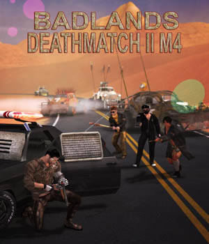 Badlands Deathmatch II for M4 3D Figure Essentials theKageRyu