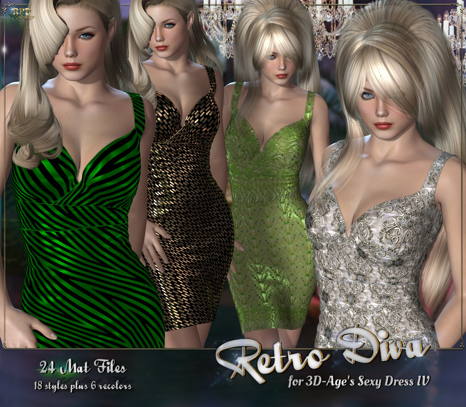 Sexy Dress IV - Retro Diva