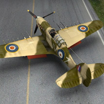 Hurricane Mk IIc Tank-Hunter (for Poser) image 2