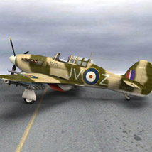 Hurricane Mk IIc Tank-Hunter (for Poser) image 3