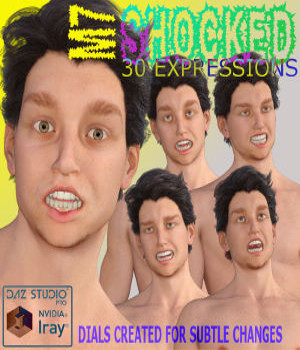M7 SHOCKED EXPRESSIONS 3D Figure Essentials farconville