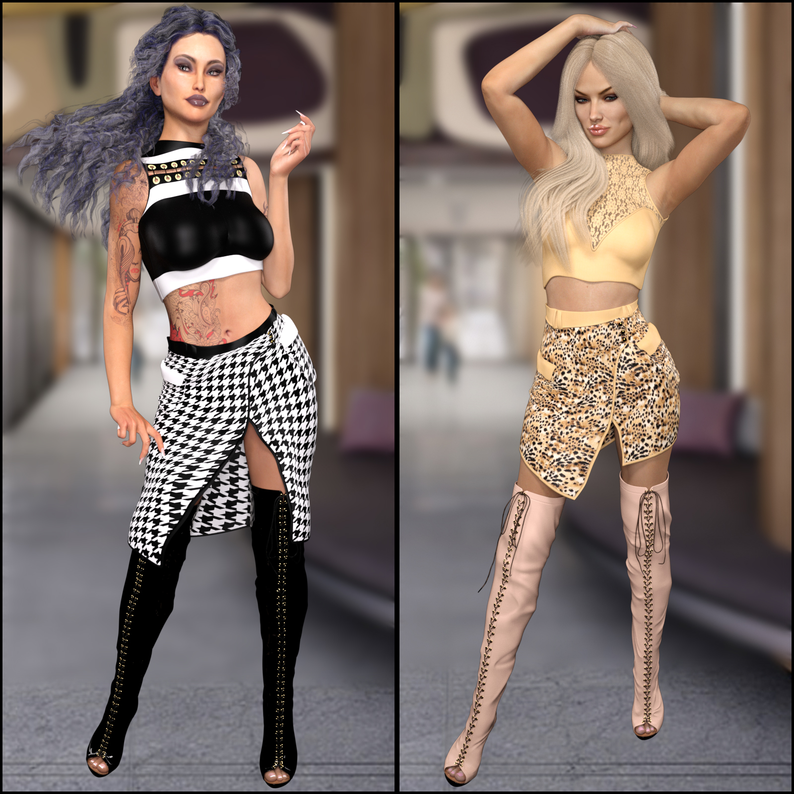 InStyle: - BeFancy - Fashion Skirt2 for G3F by -Valkyrie-