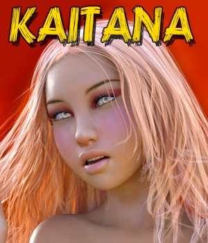 Kaitana - Character for G3\V7 3D Figure Essentials hameleon