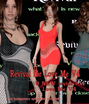 Revival for Love Me V4 3D Figure Assets JudibugDesigns