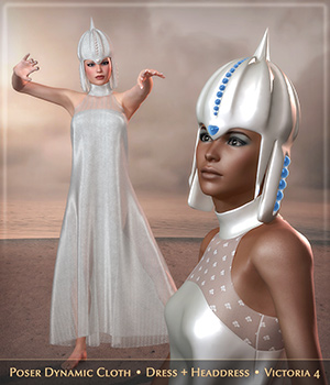 HWW The Empress: Crown and Dynamic Dress 3D Figure Essentials Frequency