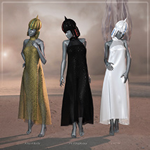 HWW The Empress: Crown and Dynamic Dress image 2