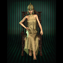 HWW The Empress: Crown and Dynamic Dress image 6