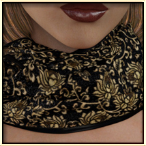 Faxhion - Scarves for Genesis 3 Females image 1