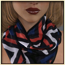 Faxhion - Scarves for Genesis 3 Females image 3