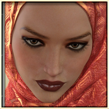 Faxhion - Scarves for Genesis 3 Females image 6