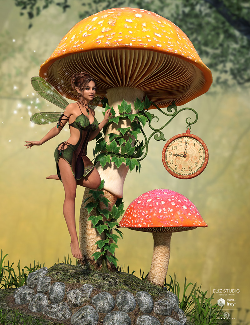 DMs Fairy Clock