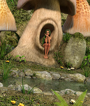 DM's Sprite Valley 3D Models DM