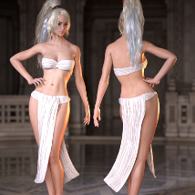 SY Draped Outfit 01 G3 image 1