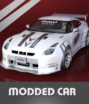 Modded Car 3D Models TruForm