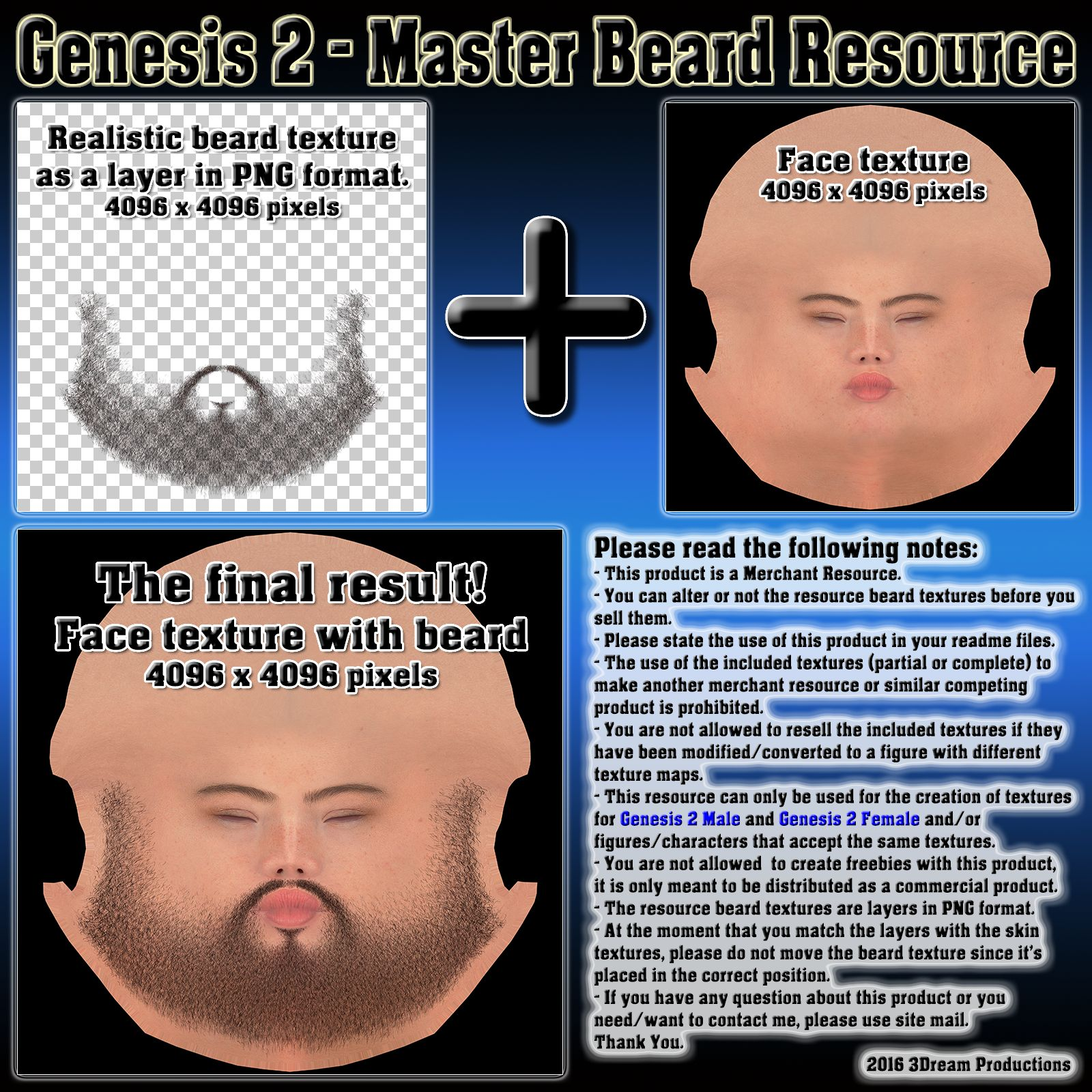 Genesis 2 - Master Beard Resource