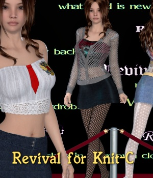 Revival for Knit-C by JudibugDesigns