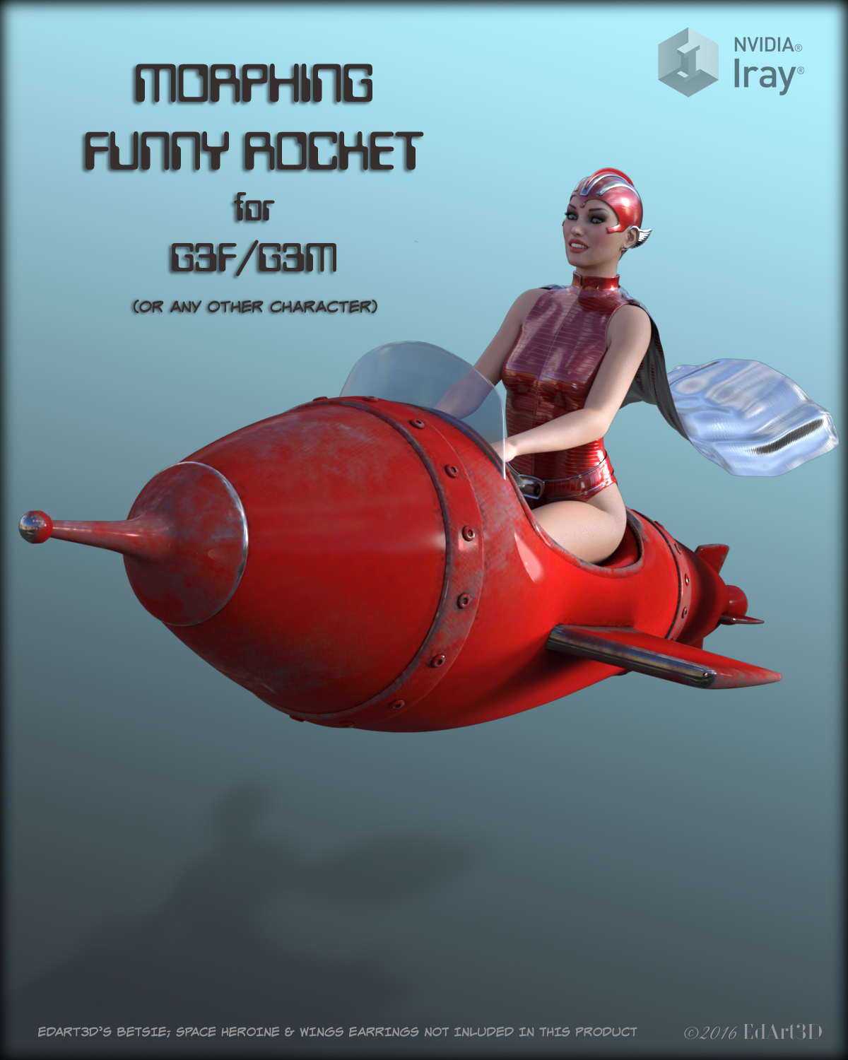Morphing Funny Rocket for G3F/G3M