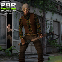 OOT PBR Texture Styles for Rough Rider image 2