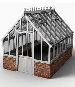 Victorian greenhouse set 3D Models DryJack
