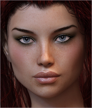 Shania for Victoria 7 and Genesis 3 3D Figure Assets Sabby