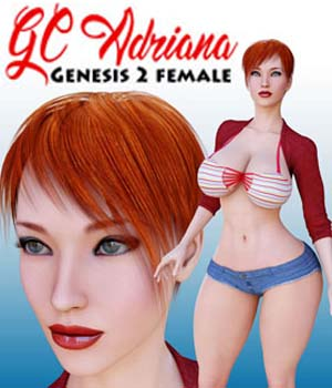 GC Adriana for Genesis 2 Female 3D Figure Assets guhzcoituz