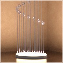 Chandelier Prop Set for DAZ Studio 4.8 and above image 1