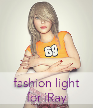 Fashion Light for iRay 3D Lighting : Cameras secondcircle