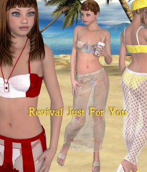 Revival Just For You 3D Figure Assets JudibugDesigns