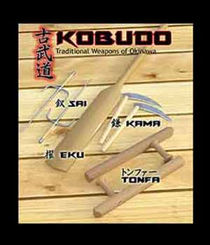 Kobudo - Traditional Weapons of Okinawa 3D Models scottquint
