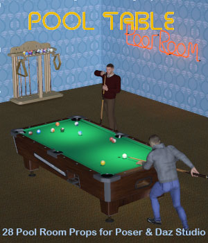 Pool Table 3D Models Simon-3D