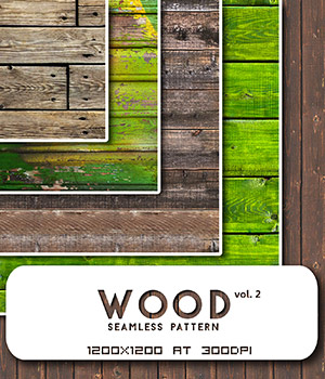 Wood vol.2 :: Seamless Pattern 2D Merchant Resources Cyrax3D
