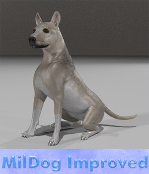Mildog Improved Remapped 3D Figure Essentials Lyrra