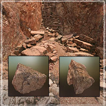 3D Scenery: High Coast Canyon  - Extended License image 8