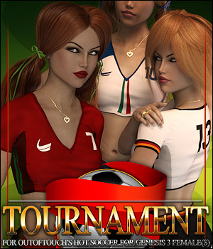 Tournament for HOT Soccer 3D Figure Assets ShanasSoulmate