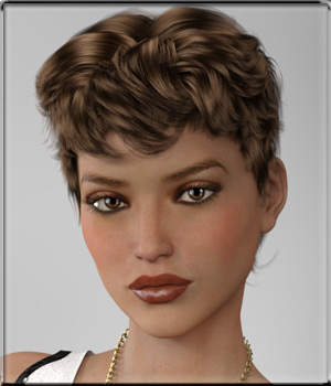 To Dye For - Short Hair 3D Figure Assets vyktohria
