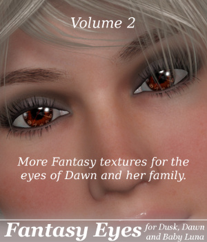 ML Fantasy Eyes Vol.2 for Dawn, Dusk & Baby Luna 3D Figure Essentials Mirella