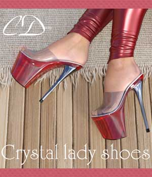 Crystal lady shoes for g3f 3D Figure Assets curtisdway