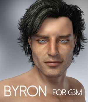 Byron for Genesis 3 Male 3D Figure Assets RedzStudio
