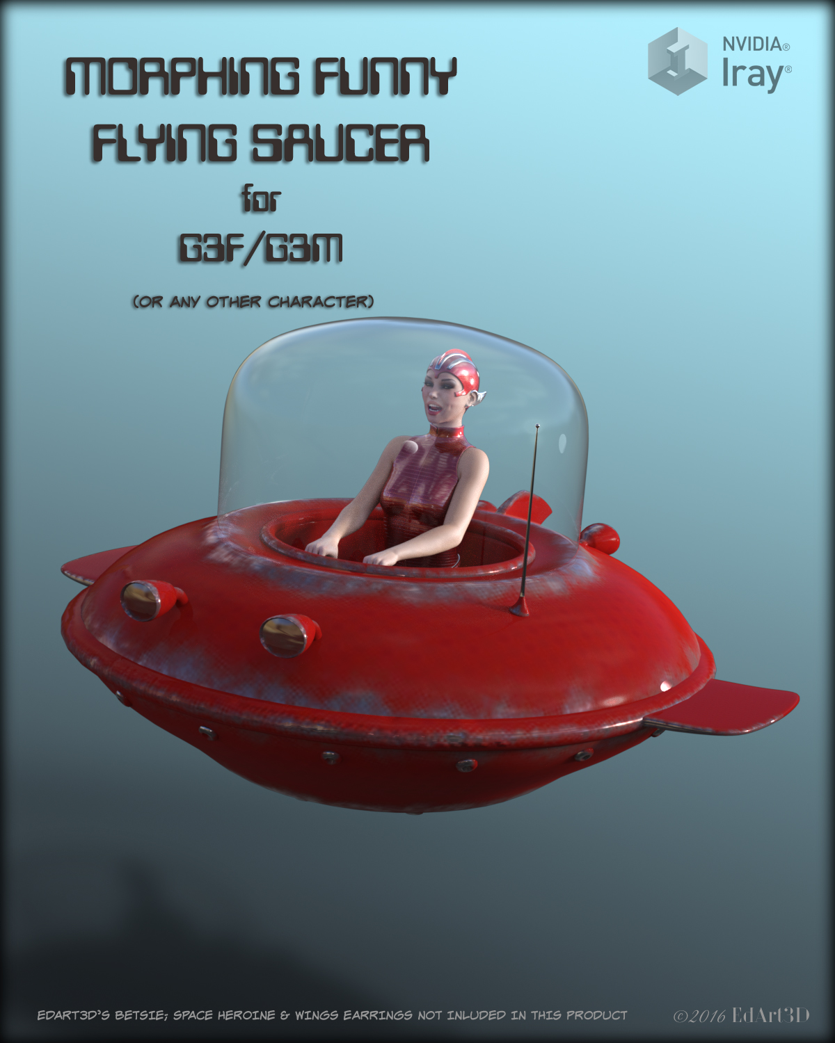 Morphing Funny Flying Saucer for G3F/G3M