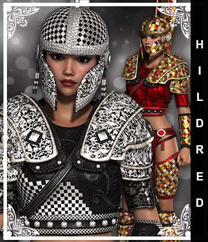 Hildred for Hoplite Spirit 3D Figure Essentials sandra_bonello