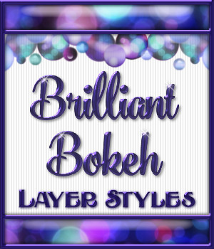 Brilliant Bokeh Layer Styles 2D Graphics Merchant Resources fractalartist01